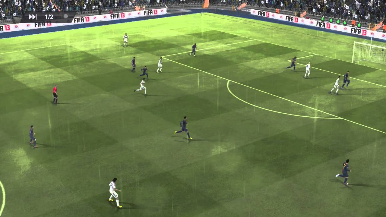 Match en Direct | FC Barcelone - Real Madrid | Fifa 13 - YouTube