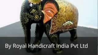 Handcraft Wooden Elephant - Royal Handicraft Indian Pvt Ltd