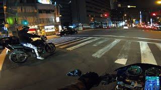 【重大予告あり】Hornet250 Osaka Japan 【Exhaust Sound】