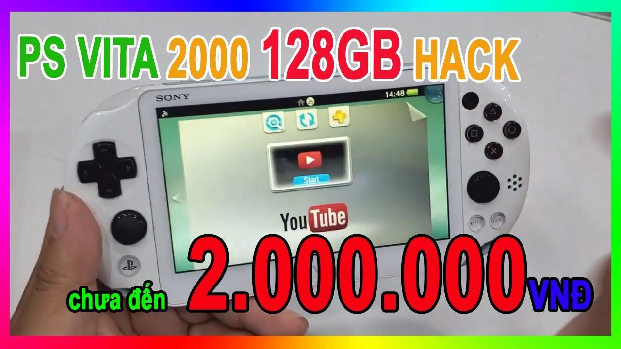 Sony PS Vita 2000 128Gb hack Full giá chỉ chưa đến 2.000.000 VNĐ | Sony PS Vita 2000 128Gb hack 90$