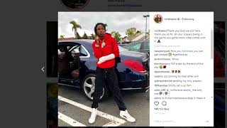 Rich the kid out the hospital,  And he already flexing!  Tori Didn't set him up!