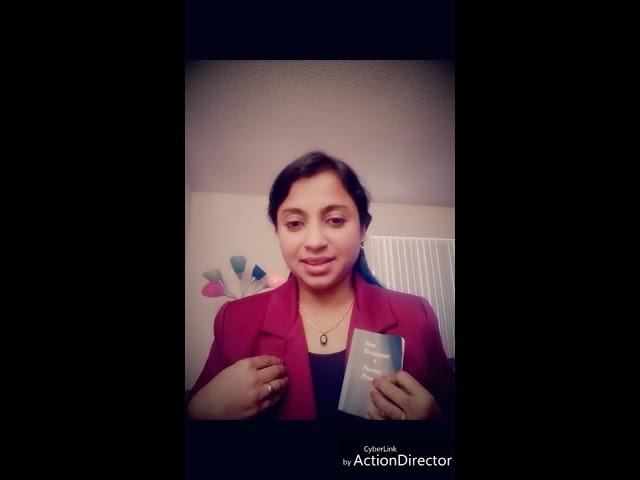 Testimony of a Brahmin who accepted JESUS ! (Part II) - Mrs. Uma Moorthy