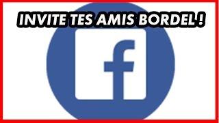 Comment inviter tous ses amis facebook à aimer une page ?