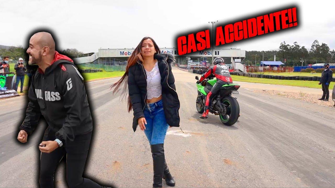 Casi ACCIDENTE!! R1M VS ZX10RR Drag Race