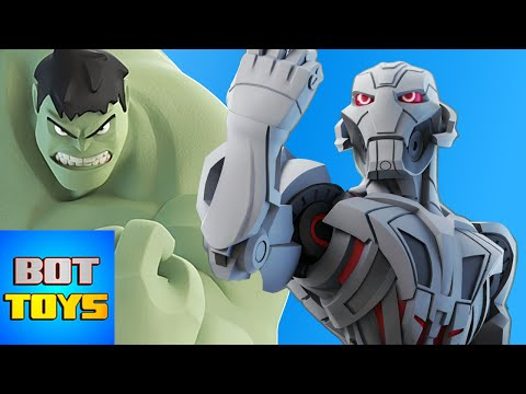 HULK vs ULTRON - Desafíos de Caricaturas en Español | Gameplay Disney Infinity 3.0