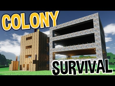 Colony Survival - Build A Kingdom, Be A King - The Great Wheat Tower! -  Colony Survival Gameplay