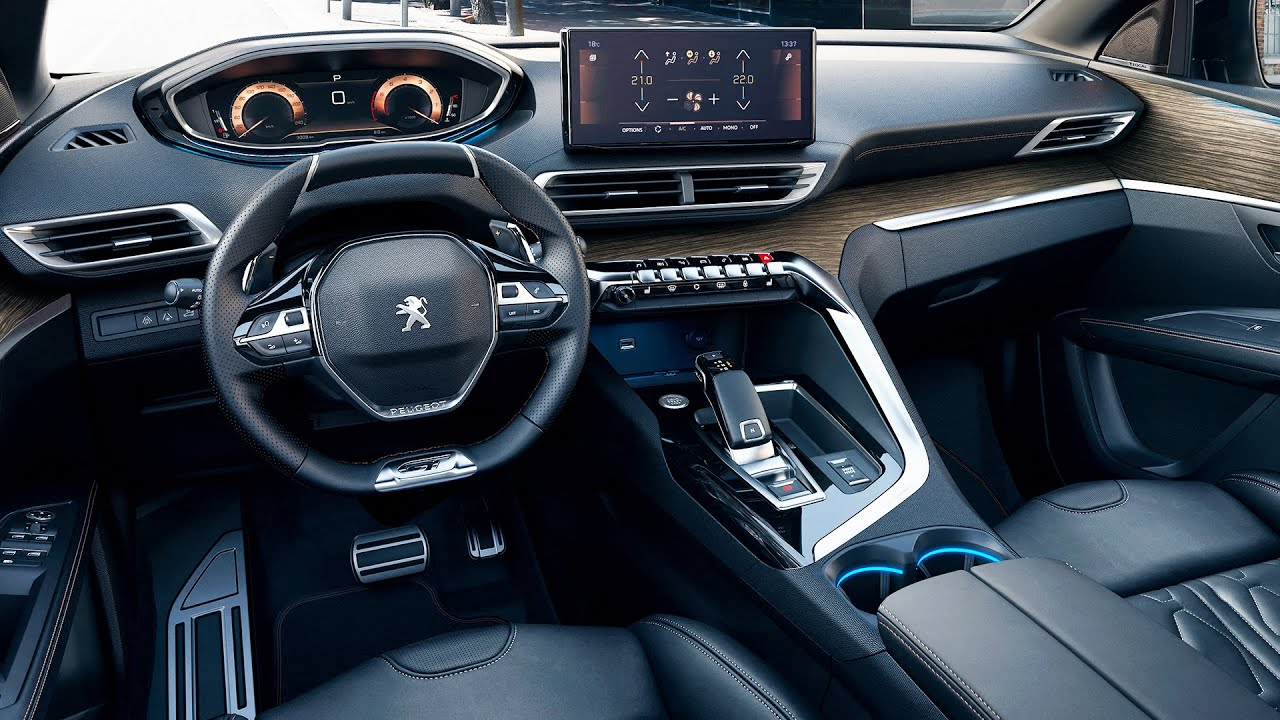 Download NEW 2021 Peugeot 5008 Interior - Perfect 7 Seater French SUV !