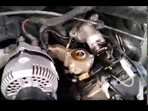 Replacing a Thermostat on a Ford E250 (54L Triton) - Easy! - YouTube