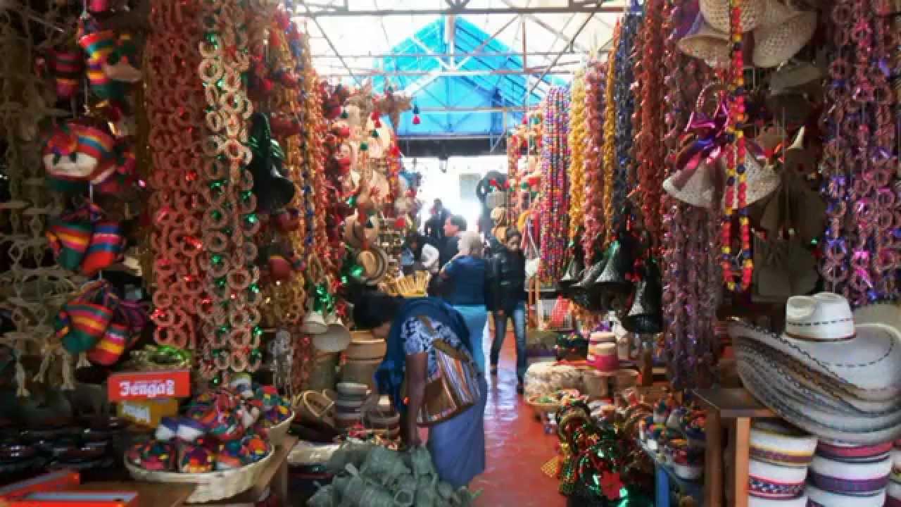 Tzintzuntzan Mercado De Artesanías