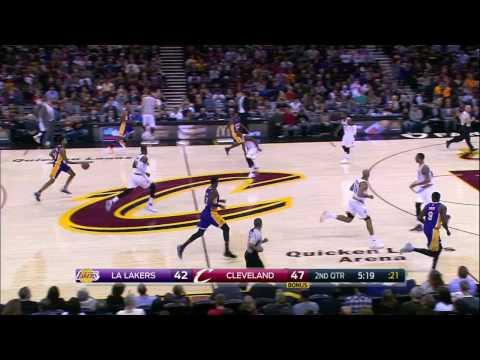 Los Angeles Lakers vs Cleveland Cavaliers   December 17, 2016   NBA 2016-17 Season