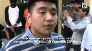 Polisi Tangkap Pelajar SMK Otak Pembuat Uang Palsu