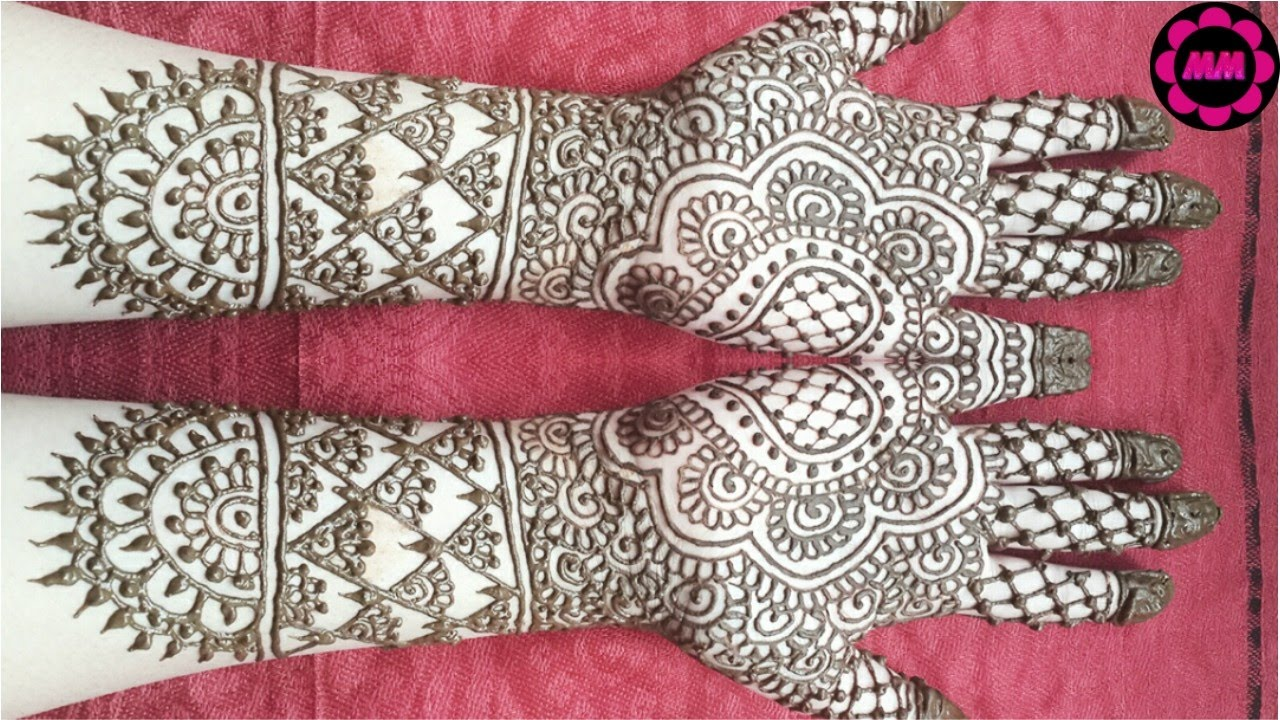 Bridal Henna Design Simple Wedding Mehendi Full Hand Indian