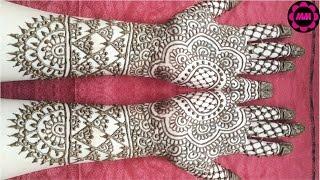 indian mehndi designs full hand