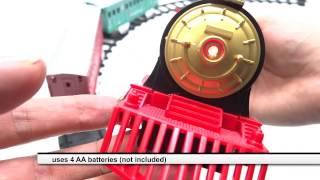 Track And Train Locomotive Toys With Sounds Christmas Light Smoke Tour 260cm