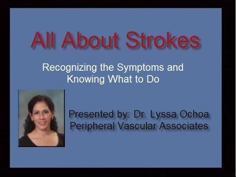 Strokes: Recognizing the Symptoms