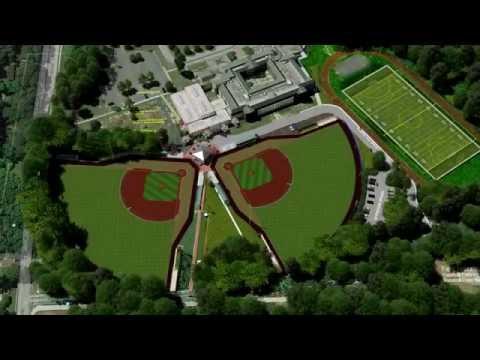 Video Renderings of New Brook Run ballfields at Peachtree Middle School