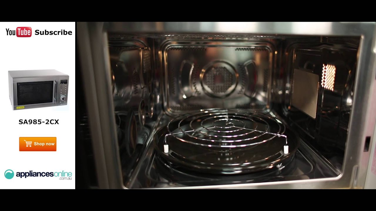 how to clean convection microwave