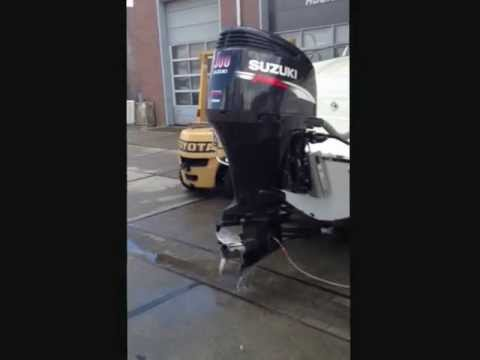 Tdv watersport suzuki v6 300hp outboard engine youtube for 85 hp suzuki outboard motor for sale