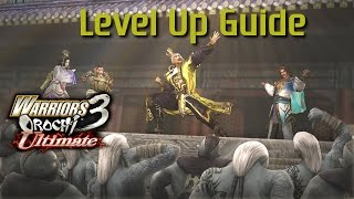 Warriors Orochi 3 Ultimate [PS4]   Level Up Guide! (Easiest/Fastest Way)