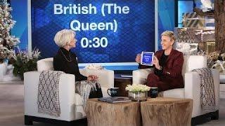 Helen Mirren and Ellen Play 'Heads Up!' - TV SHOW KING