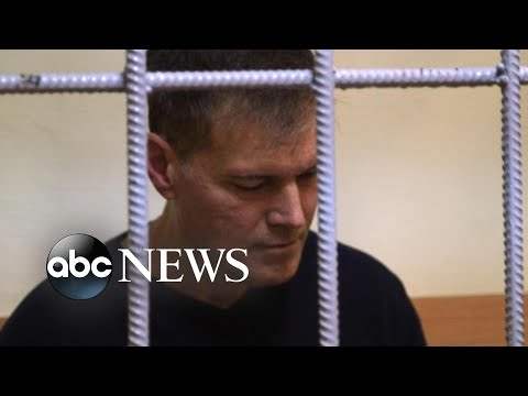 US citizen held in a Russian prison for years on what he said are false drug charges