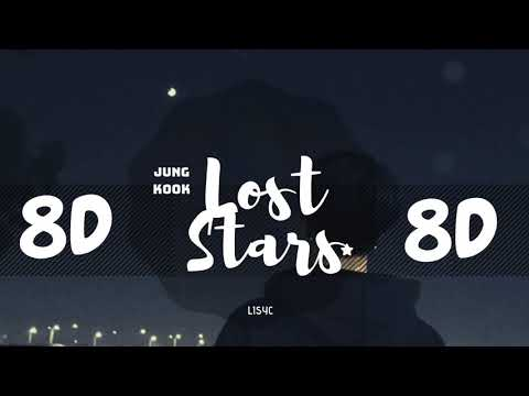 ✨ [8D AUDIO]  JUNGKOOK BTS - LOST STARS [USE HEADPHONES 🎧]   BTS   전정국
