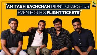 Sye Raa Narasimha Reddy Interview   Chiranjeevi, Ram Charan, Farhan Akhtar, Ritesh Sidhwani