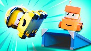 面向儿童的卡车视频 - 特技演员! - Truck Games