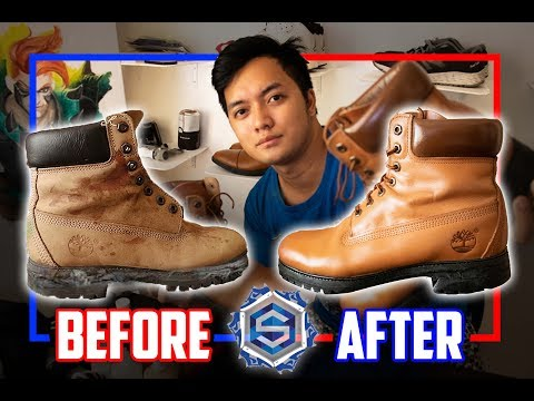 Timberland Boots | Restoration | Repaint | Episode 1 | Tagalog