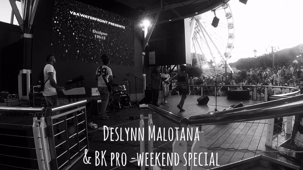 Deslynn Malotana covers Brenda Fassie's 'Weekend Special' Live