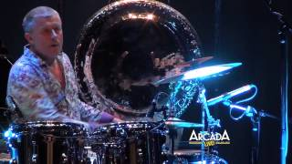Carl Palmer performs a Drum Solo at the Arcada Theater!