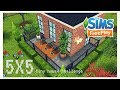 SIMS FREEPLAY - SPEED BUILD [ 5 x 5 Tiny House Challenge ] 2018