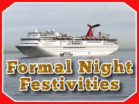 Formal Night on Carnival Cruise l Carnival Cruise Vlog l Ep. 20