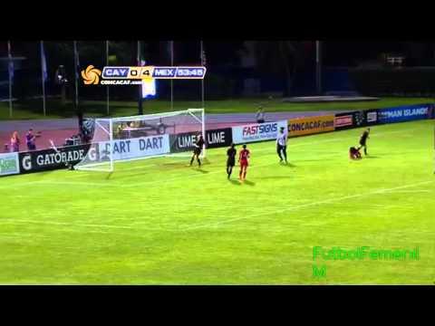 Islas Caimán vs México Premundial Femenil Sub-20 2014