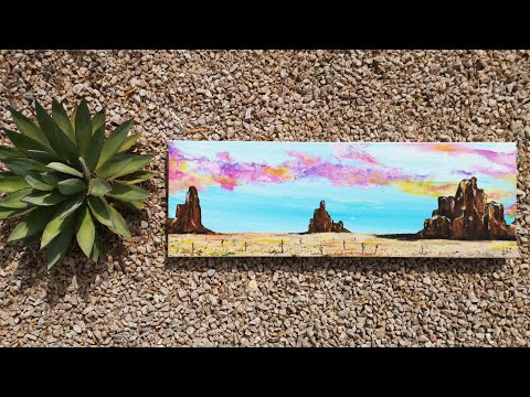 Arizona Finger Painting