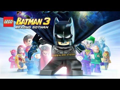 Lego Batman 3: Beyond Gotham #3 (немое прохождение/без комментариев)