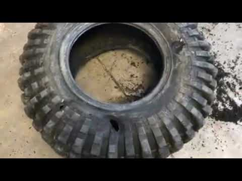 How to fix cut offroad tires?? Instant solution