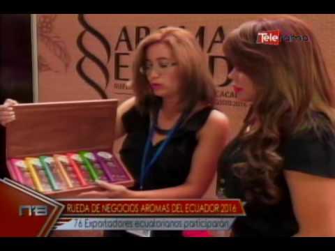 Rueda de negocios Aromas del Ecuador 2016 76 exportadores ecuatorianos participarán