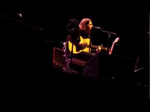 Conor Oberst  acoustic solo  Lenders In The Temple  at Kampnagel in Hamburg 20130129