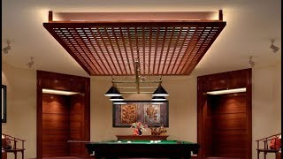 35 Incredible Modern Wood Ceiling Roof Design, Kitchen Design with Wood Work, Latest Collection 2018