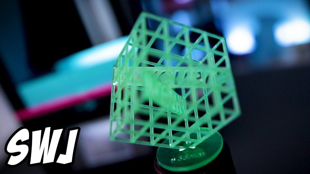 ANYCUBIC Photon UV LCD 3D Printer - First Print! | SWJ