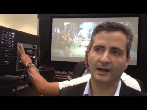 Christie Shows New Solaria One Digital Cinema Projector at ShowEast 2012