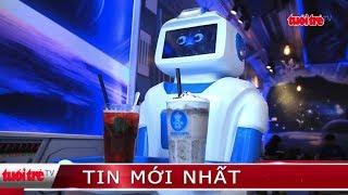 ⚡ Tin mới nhất | Độc đáo với Robot phục vụ quán cafe tại Hà Nội