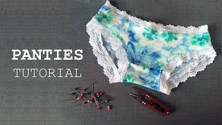DIY - Sewing Panties Tutorial - Tự may quần lót