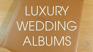 Luxury Wedding Albums by Damian Brown Photography