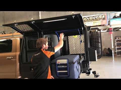 Adventure 4x4 & Auto Electrics Custom Canopy Fit Out