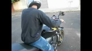 Ronco hornet 600cc 2010, cortando1°.