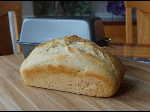 Worlds Easiest No-Knead Sandwich Bread using a Poor Mans Dutch Oven