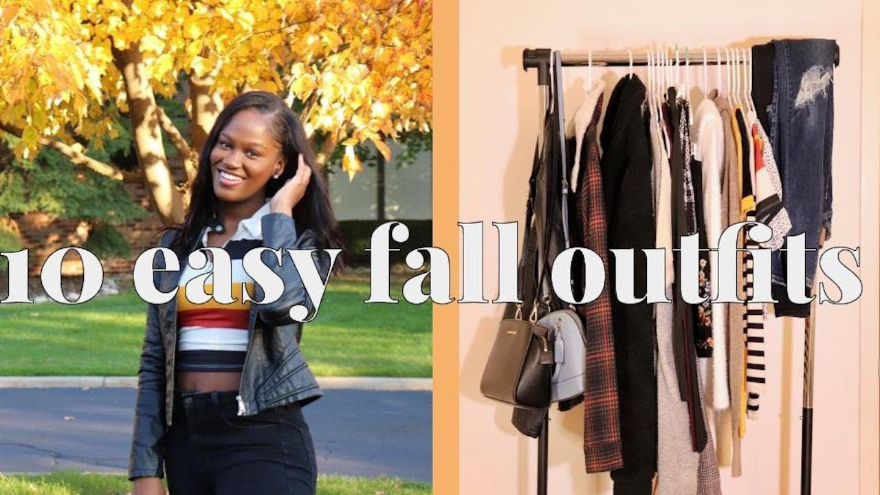 [VIDEO] - 10 Easy Fall Outfit Ideas || thecdedit 1