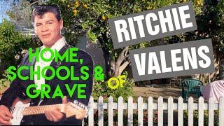 Famous Graves : Ritchie Valens | La Bamba Singer's Home, Schools, and Gravesite